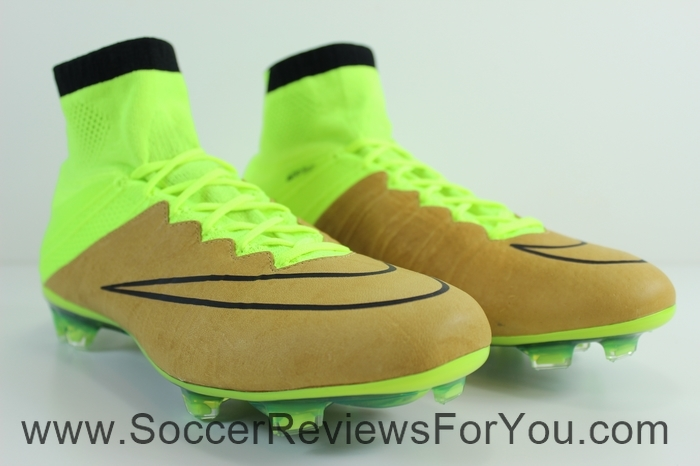 Nike Mercurial Superfly 4 Leather Volt (2)