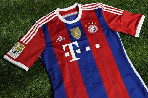 2014-15 Bayern Munich Home Alonso Jersey (1)