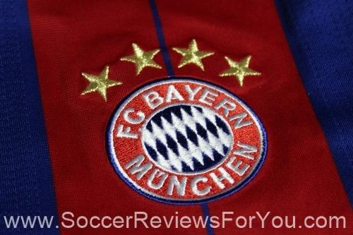2014-15 Bayern Munich Alonso Home Soccer Jersey