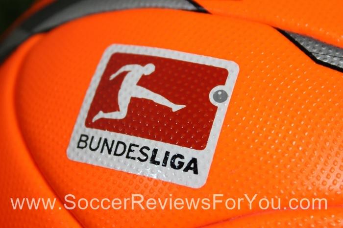 2015-16 Budesliga Torfabrik Winter Official Match  Soccer Ball (4)