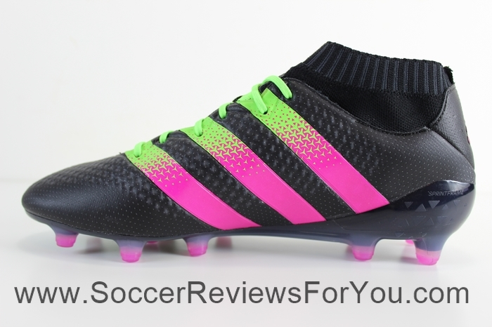 adidas Ace 16.1 Primeknit Black Pink (4)
