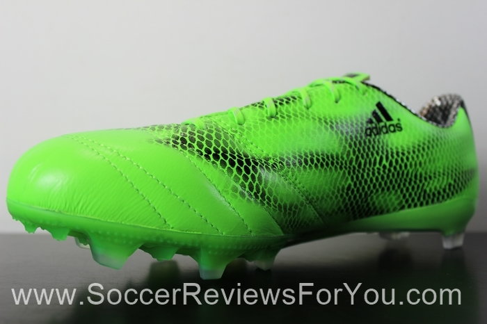 adidas F50 adiZero 2015 Leather Solar Green (17).JPG