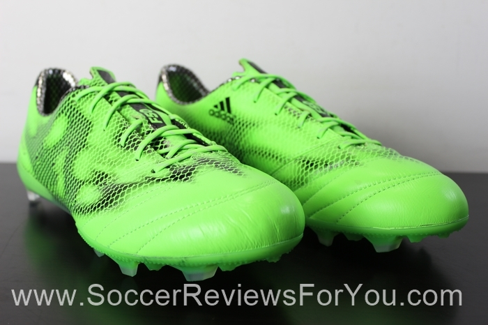 adidas F50 adiZero 2015 Leather Solar Green (2).JPG