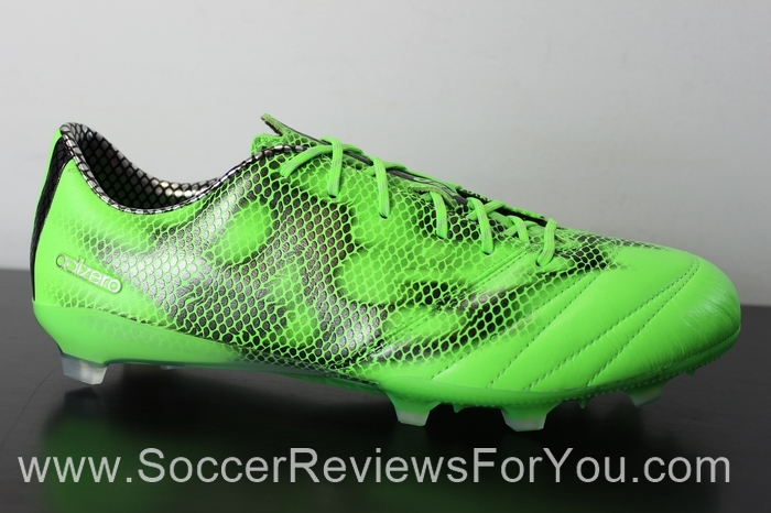 adidas F50 adiZero 2015 Leather Solar Green (3).JPG