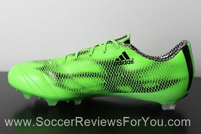 adidas F50 adiZero 2015 Leather Solar Green (4).JPG