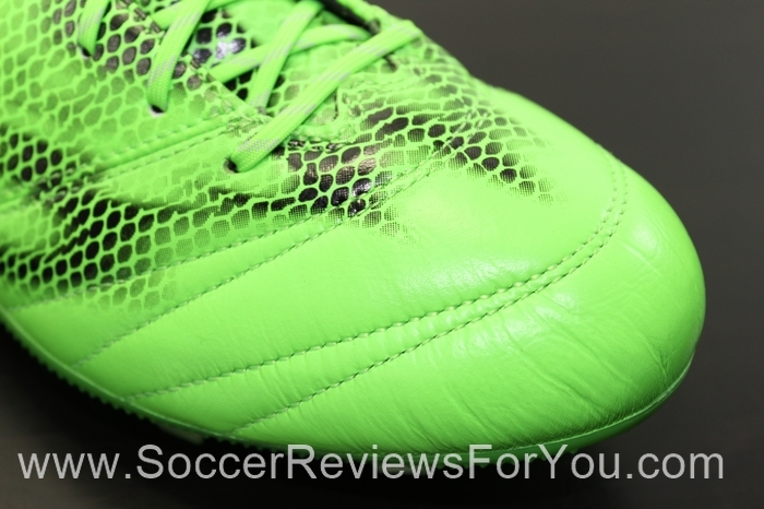 adidas F50 adiZero 2015 Leather Solar Green (5).JPG