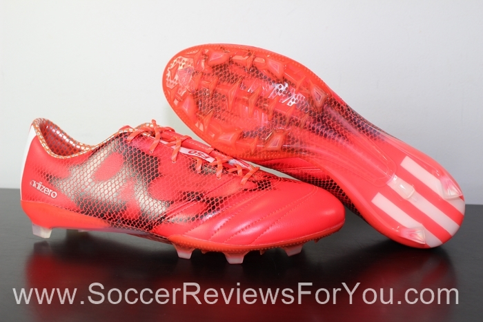 adidas F50 adiZero 2015 Leather Solar Red (1)