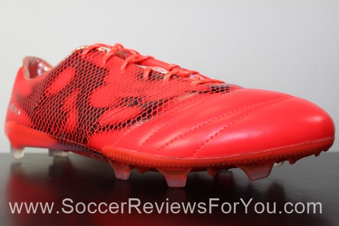 adidas F50 adiZero 2015 Leather Solar Red (15)