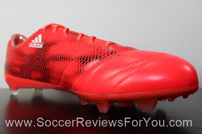 adidas F50 adiZero 2015 Leather Solar Red (16)