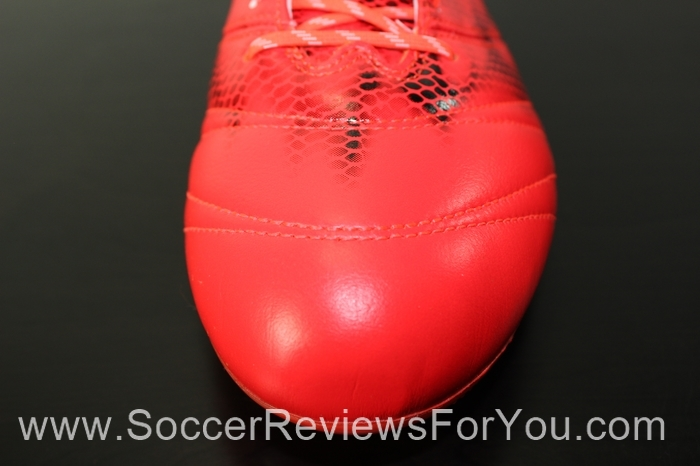 adidas F50 adiZero 2015 Leather Solar Red (17)