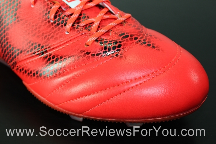 adidas F50 adiZero 2015 Leather Solar Red (5)