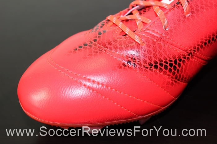 adidas F50 adiZero 2015 Leather Solar Red (6)