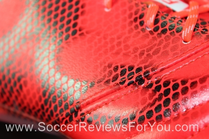 adidas F50 adiZero 2015 Leather Solar Red (7)