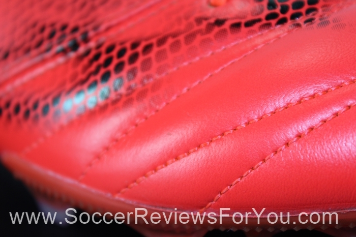 adidas F50 adiZero 2015 Leather Solar Red (8)