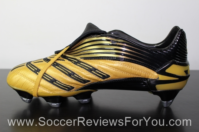 adidas Predator Absolute Gold Leather Soccer/Football Boots