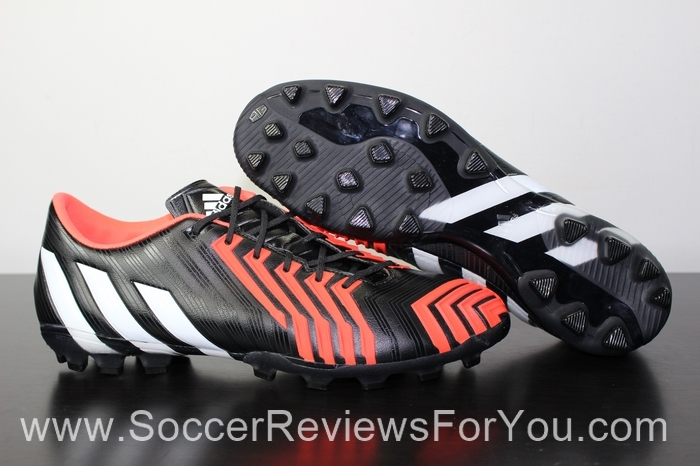 adidas Predator Instinct AG Black Running White Solar Red Soccer Football  Boots 6301dc274