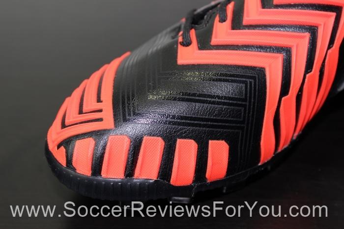 adidas Predator Instinct AG Black/Running White/Solar Red Soccer/Football Boots