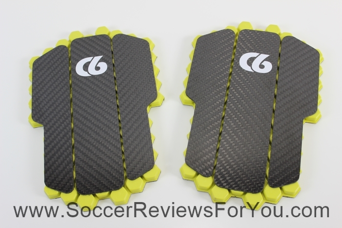 C6 Agility Hex Elite Carbon Fiber Shin Guards and Valor Compression Sleeves (1)