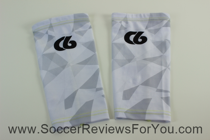 C6 Agility Hex Elite Carbon Fiber Shin Guards and Valor Compression Sleeves (6)