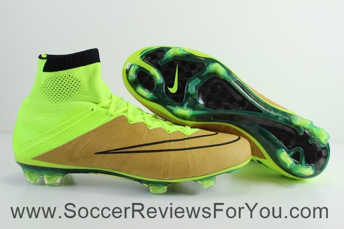 Nike Mercurial Superfly 4 Leather Volt (1)