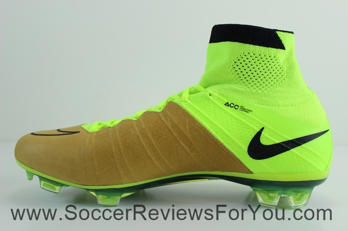 Nike Mercurial Superfly 4 Leather Volt (4)