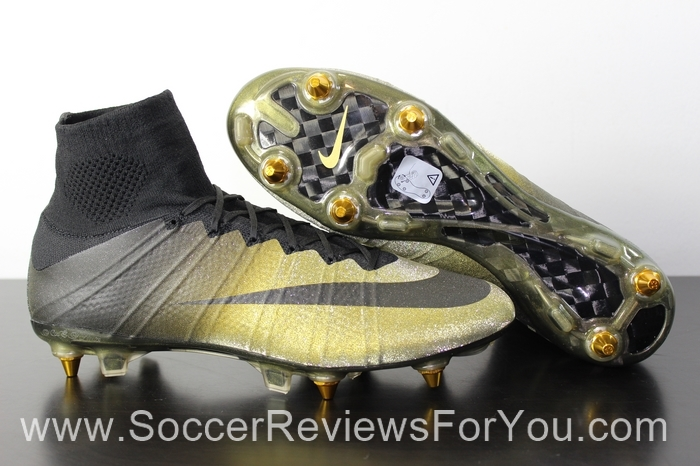 half off 6d17b 836c7 nike mercurial cr7 gold