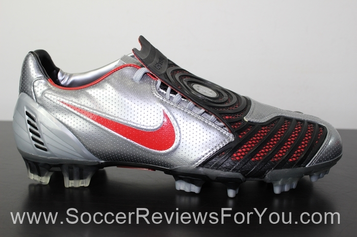 Nike T90 Laser II Silver Soccer/Football Boots