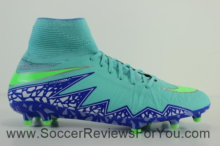 Nike Womens Hypervenom Phantom 2 Green (3)