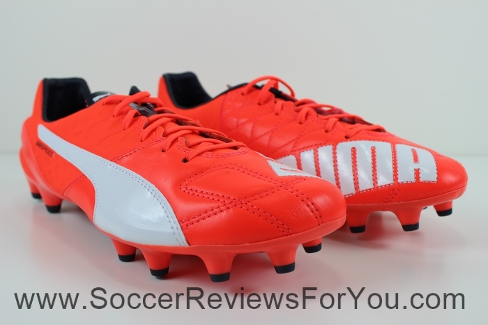 Puma evoSPEED 1.4 Leather Review - Soccer Reviews For You 003cf99902ee