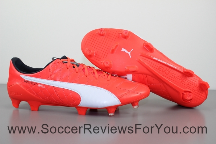 Puma evoSPEED 1.4 SL Leather Review - Soccer Reviews For You 5b269a0efa3a
