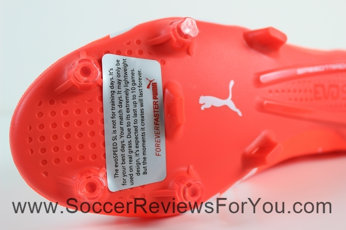 Puma evoSPEED 1.4 SL Leather  Red (2)