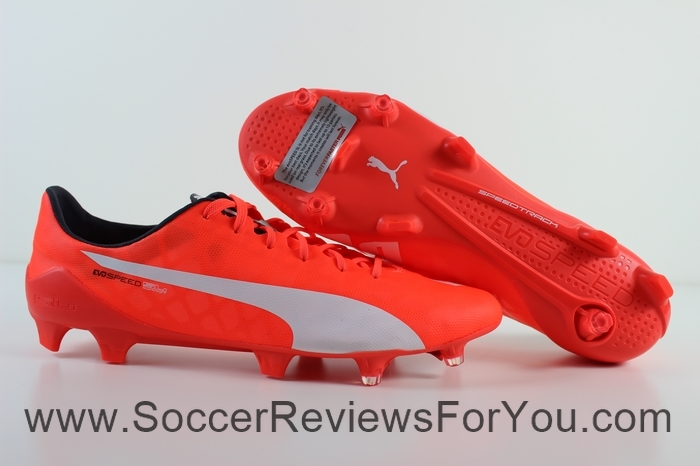 Puma evoSPEED 1.4 SL Leather  Red (20)