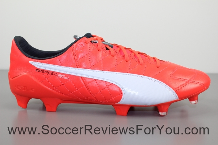 Puma evoSPEED 1.4 SL Leather  Red (39)