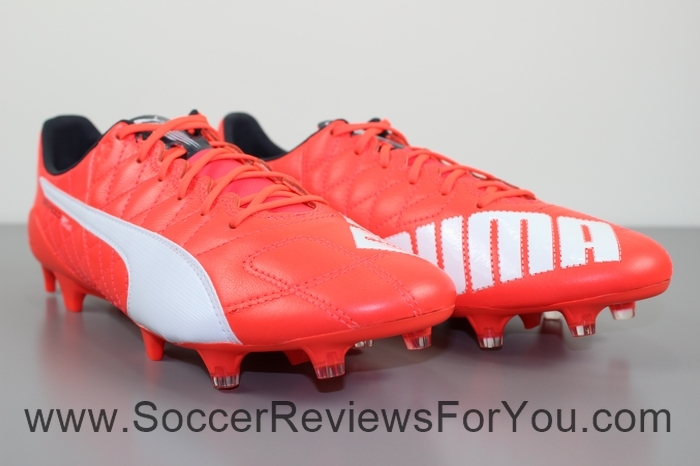 Puma evoSPEED 1.4 SL Leather  Red (40)