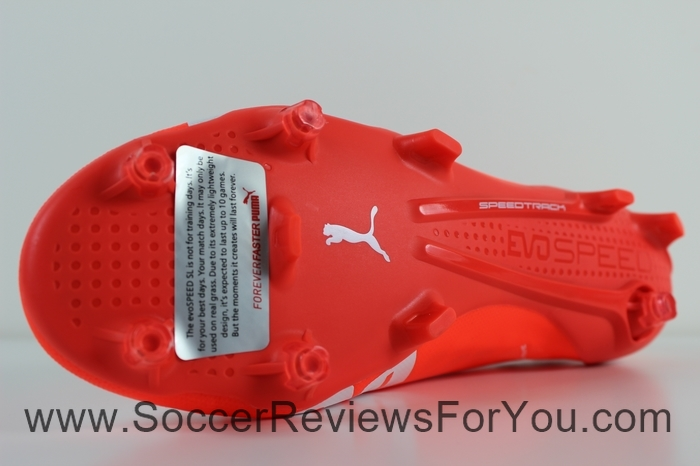 Puma evoSPEED 1.4 SL Leather  Red (5)