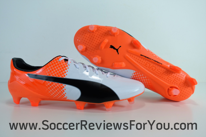 Puma evoSPEED SL-S White-Orange (1)