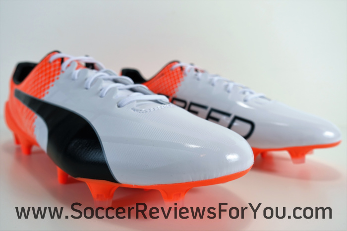 Puma evoSPEED SL-S White-Orange (2)